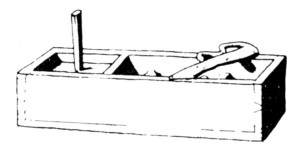 Tunderlah - Zunderlade, zeitgenössische Darstellung