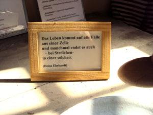 Heinz Erhardt -Weisheit zur Langfingern - Kriminalpanoptikum Aschersleben