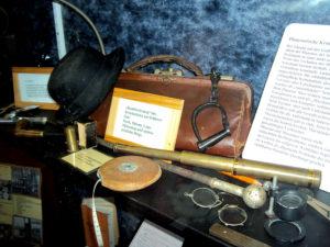 Einbruchswerkzeuge aus früherer Zeit, Kriminalpanoptikum Aschersleben